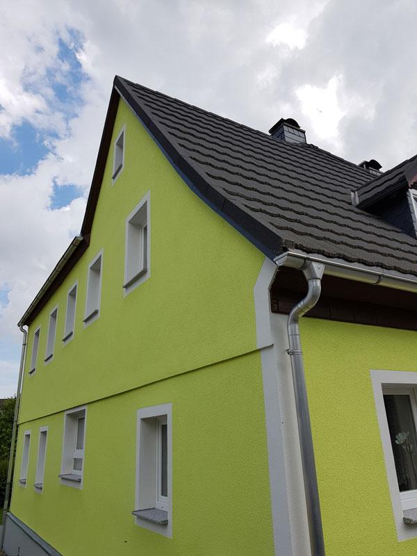 Fassade Leutersdorf Dammweg
