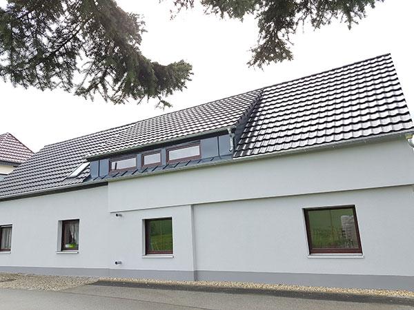 Fassade Leutersdorf Gartenweg