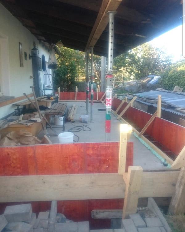 Komplettsanierung in Spitzkunnersdorf (Rohbau und Betonarbeiten)